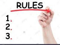 Regole chiare da rispettare +un piccolo suggerimento