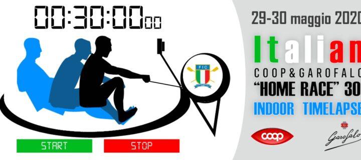 "Italian ""Home Race"" 30′ Indoor Timelapse"